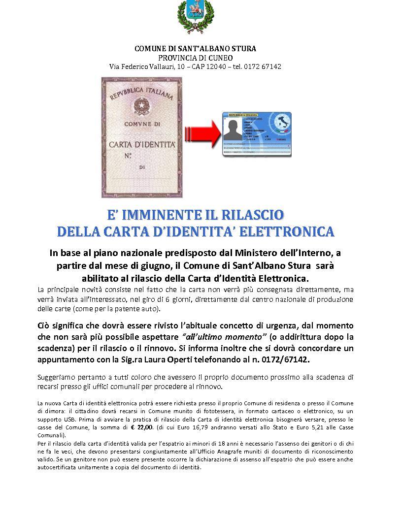 Carta d'idenità elettronica