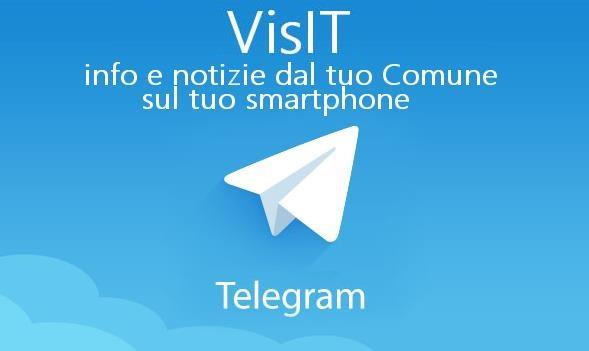 Il Comune di Sant'Albano Stura ha attivato VisITSantAlbanoStura, il nuovo canale informativo Telegram